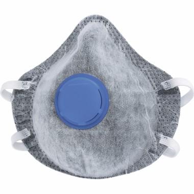 Респиратор FFP1 СИБРТЕХ (полумаска фильтрующая, c угольным слоем, с клапаном выдоха)